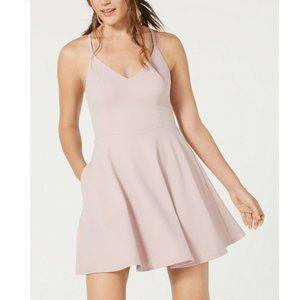 Speechless 7 Purple Lace Back Dress NWT AP38